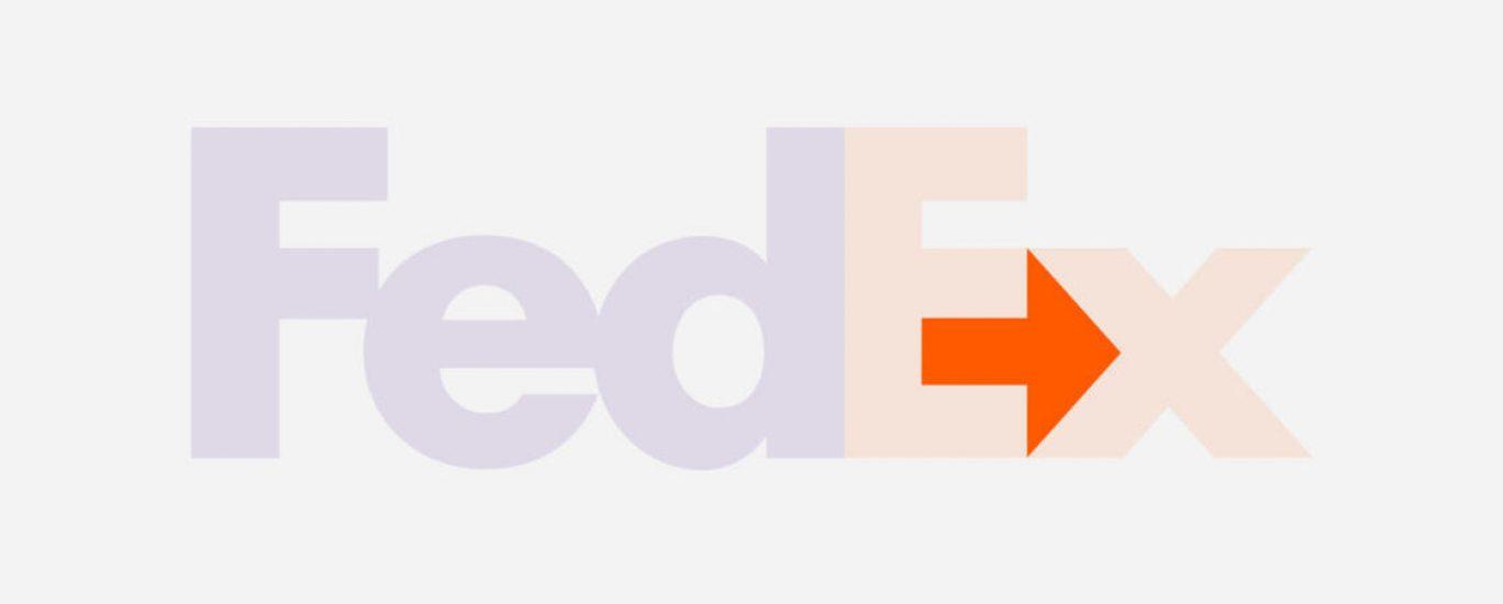 Logo FedEx Freccia in evidenza